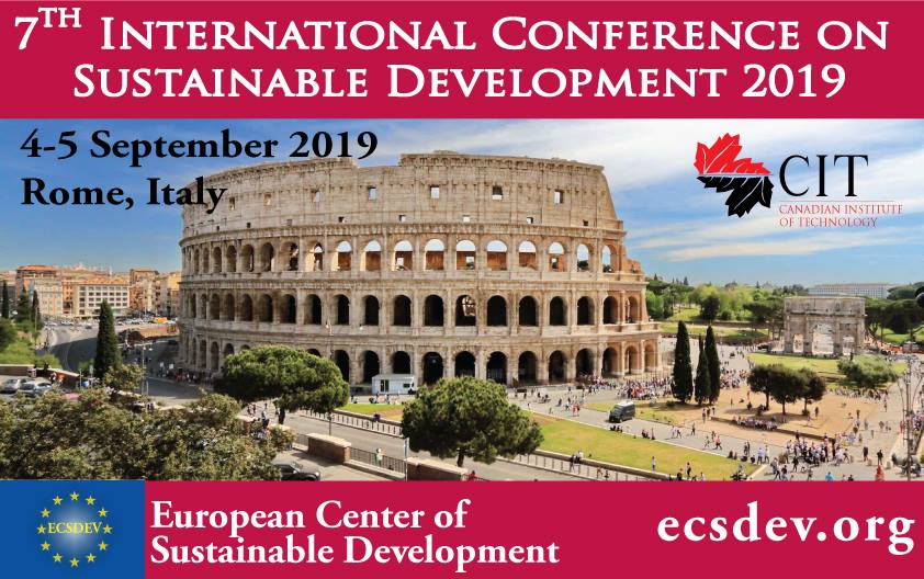 ICSD 2019 : 7th International Conference on Sustainable